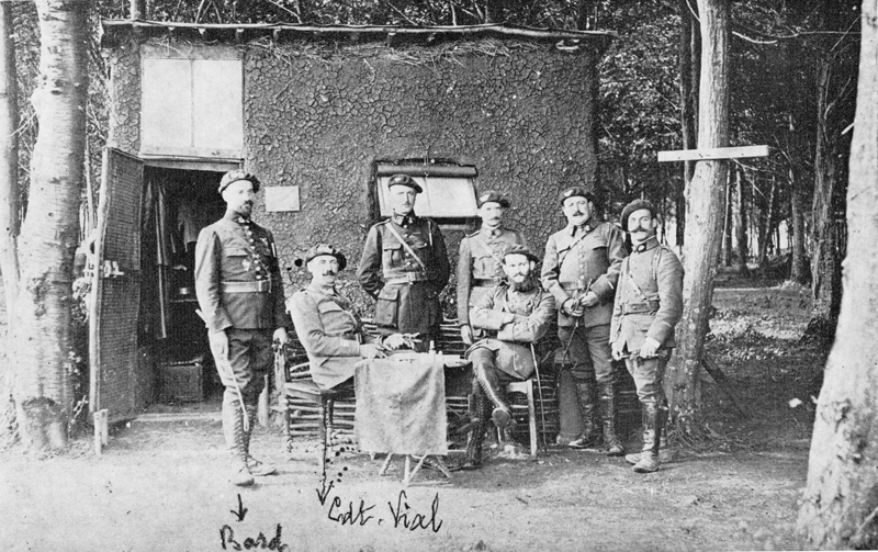 Emile Bollaert dans la Somme, à la ferme Saint-Nicolas