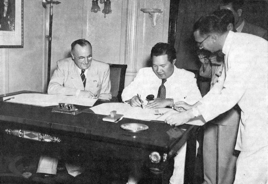 Le 5 juin 1948, Dao Baï et Emile Bollaert